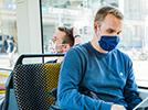 Bus & Bahn nur mit Mund-Nasen-Bedeckung
