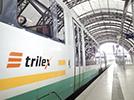 Mit dem trilex von Dresden Richtung Osten